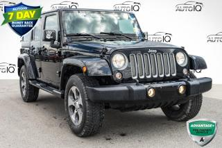 Used 2018 Jeep Wrangler JK Unlimited Sahara 4x4 for sale in Innisfil, ON