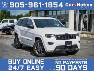 Used 2021 Jeep Grand Cherokee 80th Anniversary Edition 4x4| BRAND NEW| SOLD| for sale in Burlington, ON
