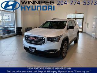 Used 2017 GMC Acadia SLT - AWD, Remote vehicle starter, Heated seats for sale in Winnipeg, MB