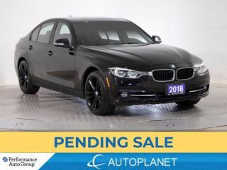 Used 2018 BMW 330i xDrive , Sportline, Navi, Sunroof, Heated Seats,Bluetooth for sale in Brampton, ON