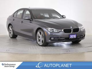 Used 2018 BMW 330i xDrive , Navi, Back Up Cam, Sunroof, Red Leather! for sale in Brampton, ON