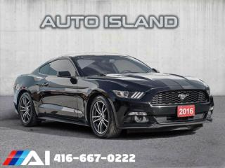 Used 2016 Ford Mustang ECOBOOST**SPORTY COUPE**LOW KMS for sale in North York, ON