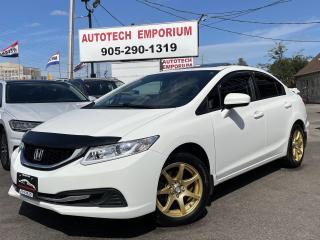 Used 2015 Honda Civic EX Sunroof/Alloys/Camera/Bluetooth&GPS* for sale in Mississauga, ON