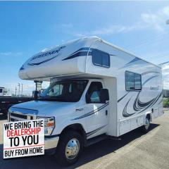 Used 2019 Forest River SUNSEEKER Base      - Steel Wheels - $716 B/W for sale in Fort St John, BC