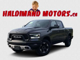Used 2019 RAM 1500 Rebel Crew CAB 4WD for sale in Cayuga, ON