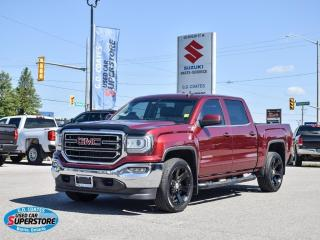Used 2016 GMC Sierra 1500 SLE Crew Cab 4x4 ~Nav ~Cam ~Heated Leather ~22's for sale in Barrie, ON