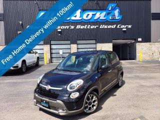 Used 2014 Fiat 500 L Trekking, Navigation, Keyless Entry, Sunroof, Heated Seats, Dual Climate Controls & More! for sale in Guelph, ON