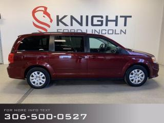 Used 2017 Dodge Grand Caravan CANADA VALUE PACKAGE for sale in Moose Jaw, SK