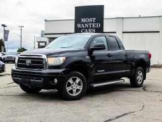 Used 2013 Toyota Tundra SR5 | 4X4 | DOUBLE CAB | LEATHER | 5.7 V8 for sale in Kitchener, ON