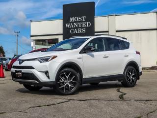 Used 2018 Toyota RAV4 Hybrid AWD | SE | NAVIGATION | LEATHER | SUNROOF | ALLOYS for sale in Kitchener, ON