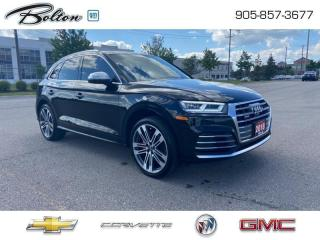 Used 2018 Audi SQ5 3.0T Progressiv Performance and Luxury for sale in Bolton, ON
