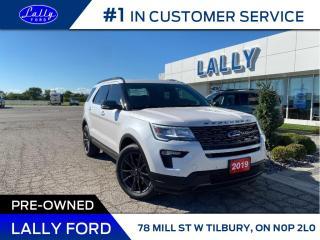 Used 2019 Ford Explorer XLT, Leather, Roof, Nav!! for sale in Tilbury, ON