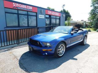 Used 2008 Ford Mustang Shelby GT500|Convertible|Leather|6 Speed Manual for sale in St. Thomas, ON
