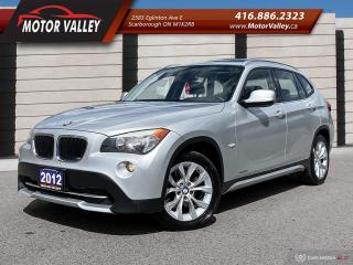 Used 2012 BMW X1 AWD 28i Leather / Sunroof - No Accident! for sale in Scarborough, ON
