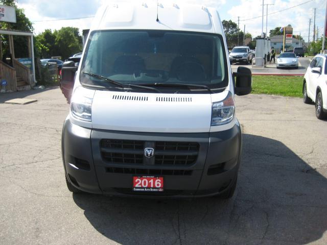 2016 RAM Cargo Van PROMASTER 2500 HIGH ROOF