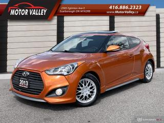Used 2013 Hyundai Veloster Turbo w/Tech Pkg! Only 088,614KM Navigation! for sale in Scarborough, ON