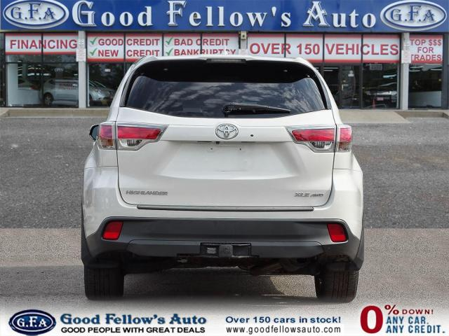2016 Toyota Highlander XLE MODEL, 8PASS, AWD, LEATHER SEATS, SUNROOF, NAV Photo4