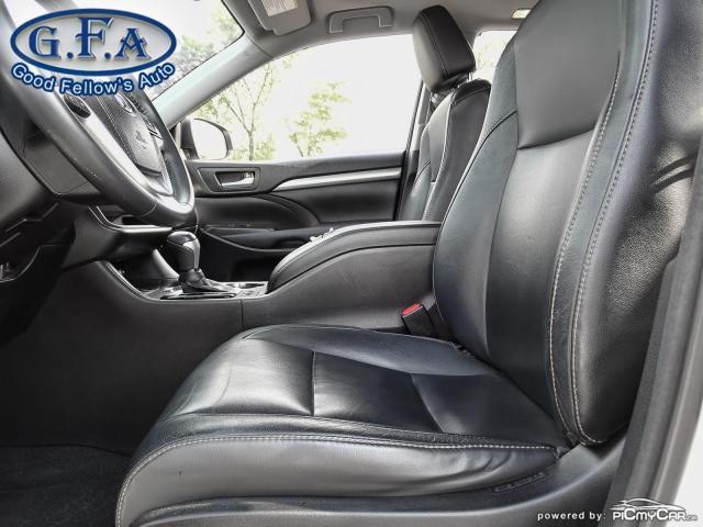 2016 Toyota Highlander XLE MODEL, 8PASS, AWD, LEATHER SEATS, SUNROOF, NAV Photo8