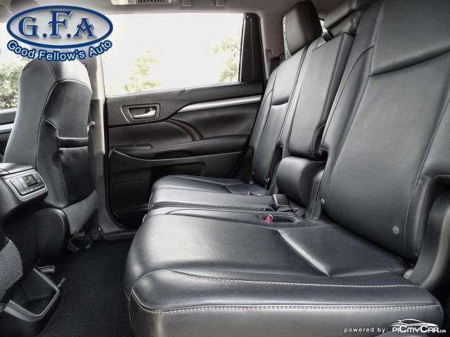 2016 Toyota Highlander XLE MODEL, 8PASS, AWD, LEATHER SEATS, SUNROOF, NAV Photo10