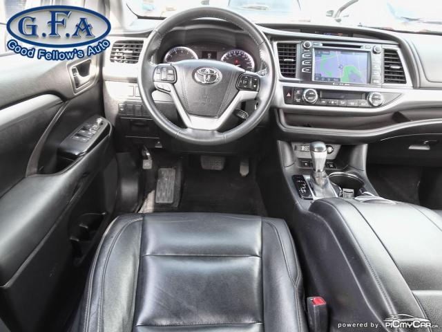2016 Toyota Highlander XLE MODEL, 8PASS, AWD, LEATHER SEATS, SUNROOF, NAV Photo13