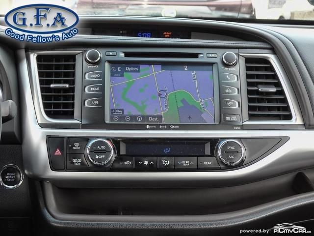 2016 Toyota Highlander XLE MODEL, 8PASS, AWD, LEATHER SEATS, SUNROOF, NAV Photo14