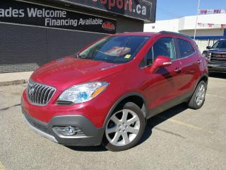 Used 2015 Buick Encore Premium OnStar package includes the latest 4G network connectivity. for sale in Saskatoon, SK