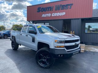 Used 2017 Chevrolet Silverado 1500 4X4|Lifted&Aggressive Tires|Backup|LED Bar|Alloys for sale in London, ON