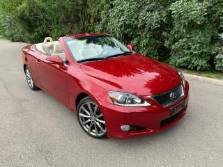 Used 2013 Lexus IS 250 ISC 250-CONVERTIBLE/HARDTOP-GPS/NAVI-ONLY 86K KMS! for sale in Toronto, ON