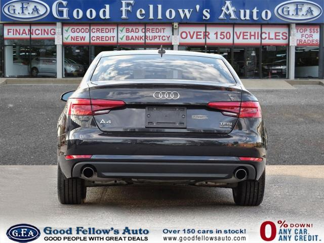 2017 Audi A4 KOMFORT, QUATRO, AWD, LEATHER SEATS, POWER SEATS Photo4