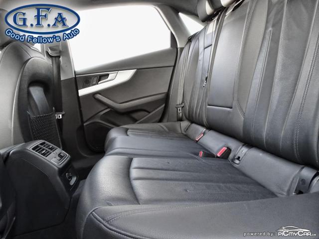 2017 Audi A4 KOMFORT, QUATRO, AWD, LEATHER SEATS, POWER SEATS Photo10