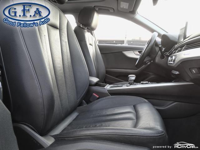 2017 Audi A4 KOMFORT, QUATRO, AWD, LEATHER SEATS, POWER SEATS Photo11