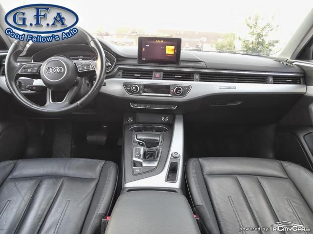 2017 Audi A4 KOMFORT, QUATRO, AWD, LEATHER SEATS, POWER SEATS Photo14
