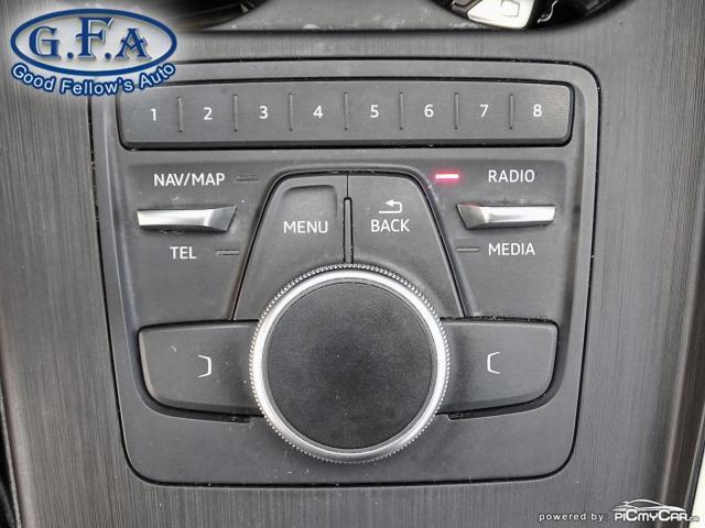 2017 Audi A4 KOMFORT, QUATRO, AWD, LEATHER SEATS, POWER SEATS Photo18