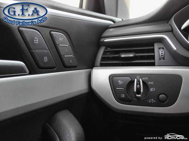 2017 Audi A4 KOMFORT, QUATRO, AWD, LEATHER SEATS, POWER SEATS Photo19