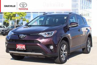 Used 2016 Toyota RAV4 XLE FWD with Power Moonroof and Blind-Spot Monitor for sale in Oakville, ON