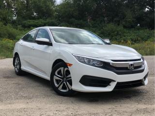 Used 2017 Honda Civic Sedan 4dr CVT LX for sale in Waterloo, ON