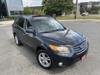 Used 2010 Hyundai Santa Fe Limited AWD, Low KM, Leather, Sunroof, Automatic, for sale in Toronto, ON