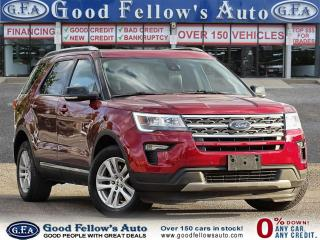 Used 2018 Ford Explorer XLT MODEL, 7PASS, LEATHER SEATS, 4WD, SUNROOF, NAV for sale in Toronto, ON
