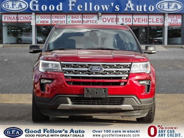 2018 Ford Explorer XLT MODEL, 7PASS, LEATHER SEATS, 4WD, SUNROOF, NAV Photo2