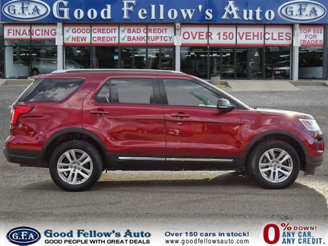 2018 Ford Explorer XLT MODEL, 7PASS, LEATHER SEATS, 4WD, SUNROOF, NAV Photo3