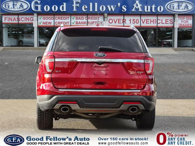 2018 Ford Explorer XLT MODEL, 7PASS, LEATHER SEATS, 4WD, SUNROOF, NAV Photo4