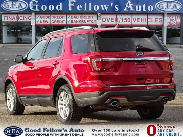 2018 Ford Explorer XLT MODEL, 7PASS, LEATHER SEATS, 4WD, SUNROOF, NAV Photo5