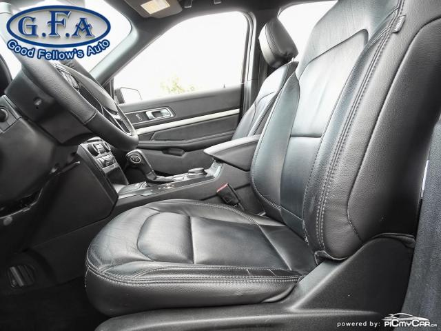 2018 Ford Explorer XLT MODEL, 7PASS, LEATHER SEATS, 4WD, SUNROOF, NAV Photo8