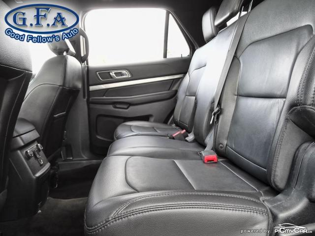 2018 Ford Explorer XLT MODEL, 7PASS, LEATHER SEATS, 4WD, SUNROOF, NAV Photo10