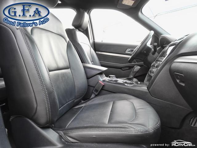 2018 Ford Explorer XLT MODEL, 7PASS, LEATHER SEATS, 4WD, SUNROOF, NAV Photo12