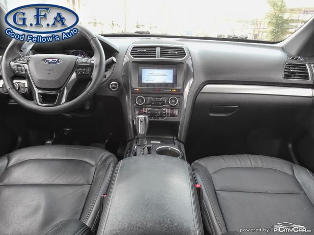 2018 Ford Explorer XLT MODEL, 7PASS, LEATHER SEATS, 4WD, SUNROOF, NAV Photo14