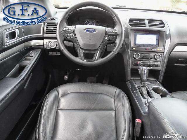 2018 Ford Explorer XLT MODEL, 7PASS, LEATHER SEATS, 4WD, SUNROOF, NAV Photo15