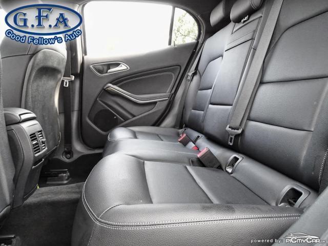 2018 Mercedes-Benz GLA 250 4MATIC, LEATHER SEATS, PAN ROOF, NAVI, BLIND SPOT Photo9