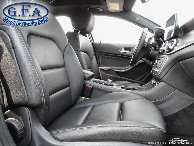 2018 Mercedes-Benz GLA 250 4MATIC, LEATHER SEATS, PAN ROOF, NAVI, BLIND SPOT Photo10