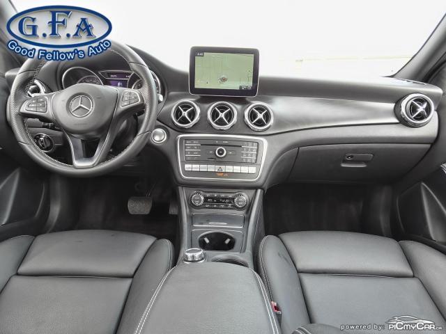 2018 Mercedes-Benz GLA 250 4MATIC, LEATHER SEATS, PAN ROOF, NAVI, BLIND SPOT Photo11
